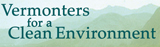 Vermonters for a Clean Environment logo